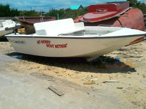 "Used 17ft CapeCraft Boat, ""No Worry Bout Nothing"""