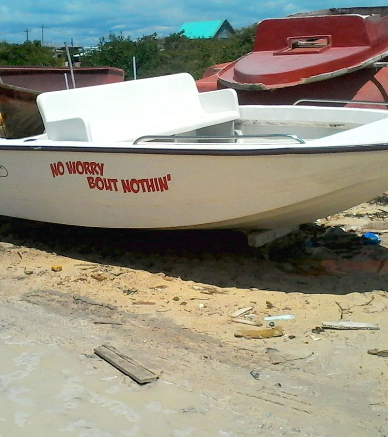 "Used 17ft CapeCraft Flats Boat ""No Worry Bout Nothin"""