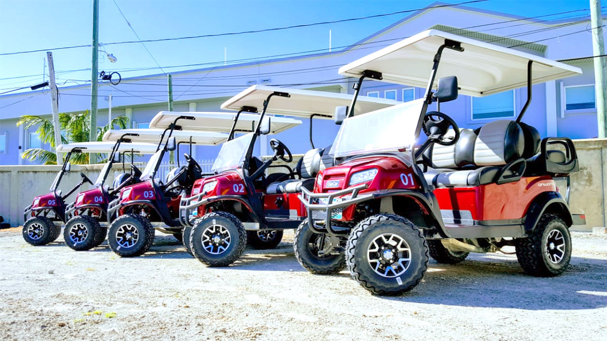 Congratulations to Island Depot on the New Onward Golf Carts