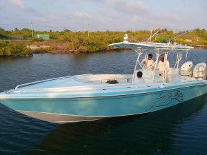 Wahoo 28ft Boat for Charles Young