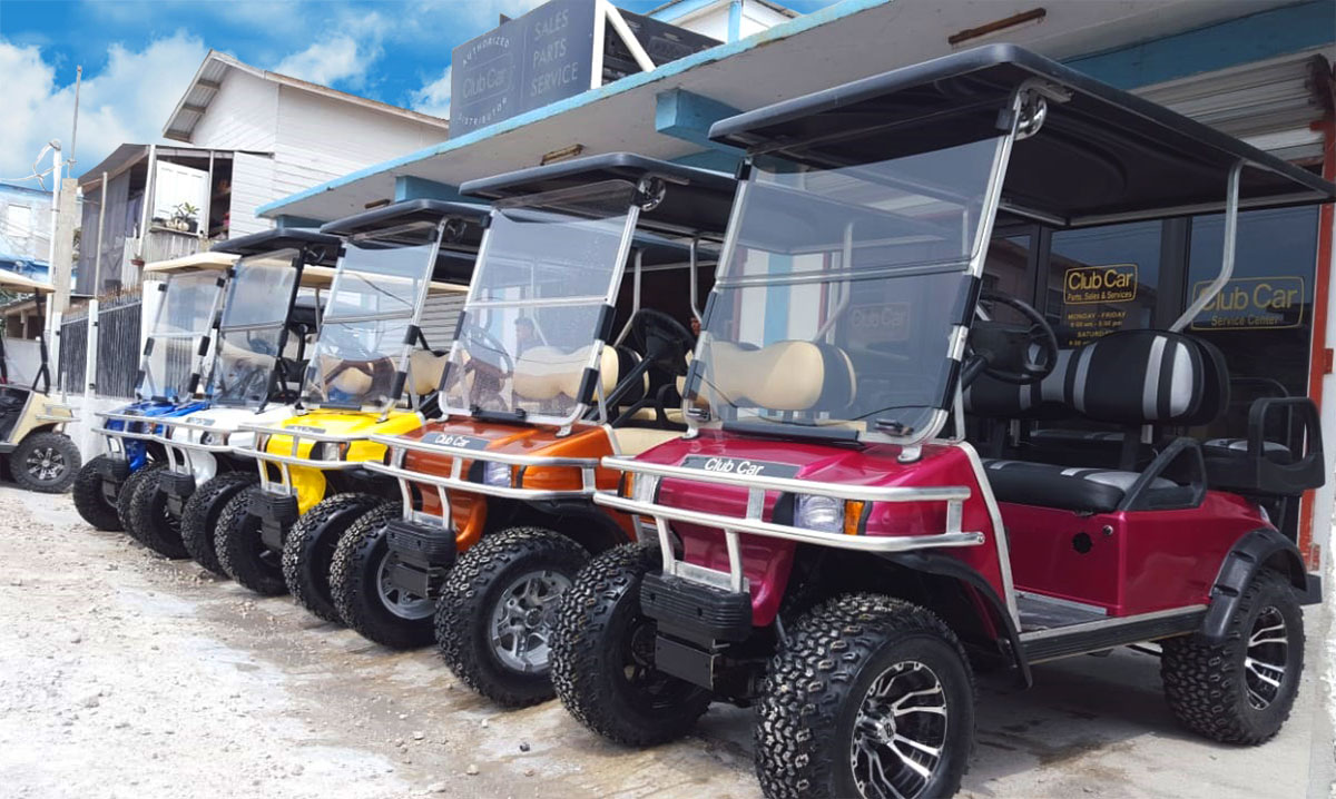 Captain Sharks Golf Cart Service Center