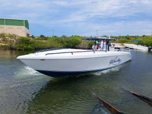 Bluefin 38ft Boat - Catchin A Buzz