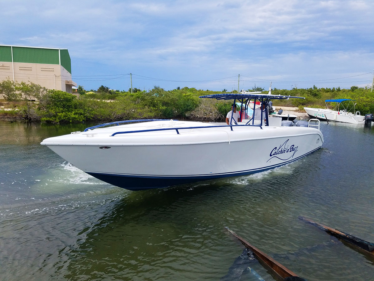 Congratulations to Kyle Rensenhouse on His New Bluefin 38 Boat