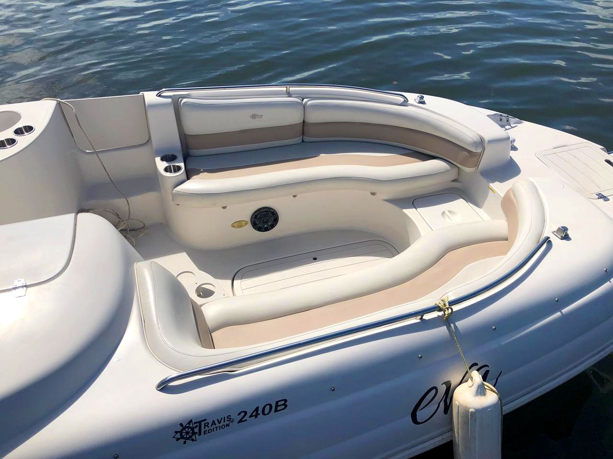Used 26ft Starcraft Deck Boat