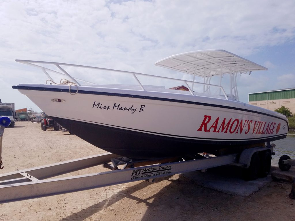Ramon's 28ft Wahoo Boat