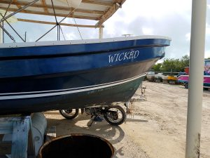 "Used 25ft Lanchon, ""Wicked"""