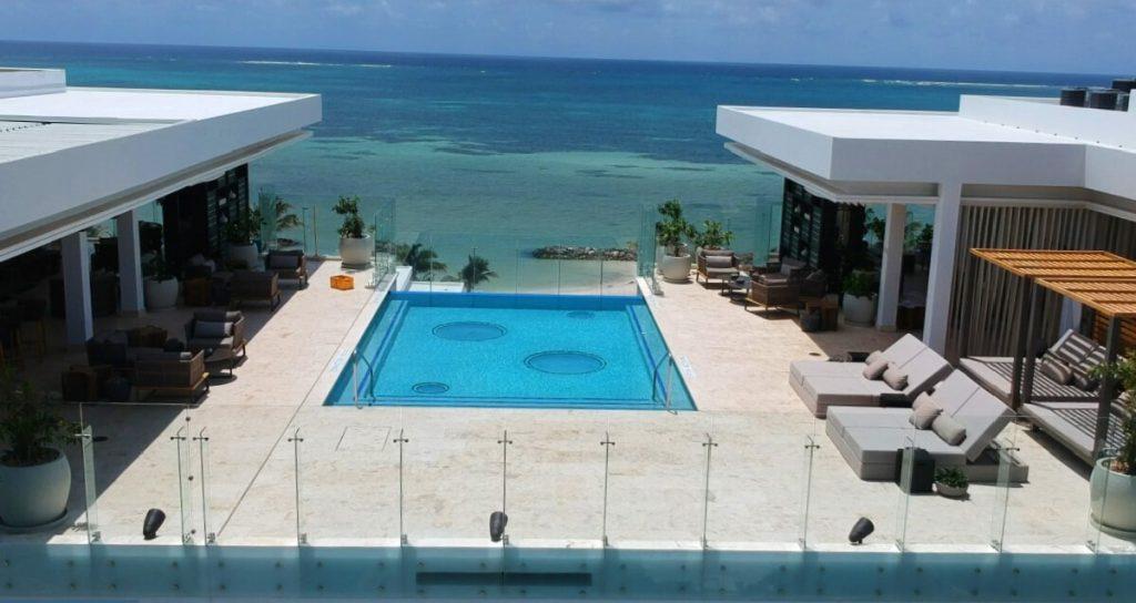 Alaia Pool and Beach View