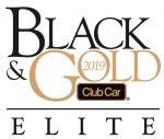 Club Car Black & Gold Elite